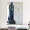 iCanvas Political Jefferson Memorial Photographic Print on Canvas