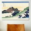 iCanvas 'Inume Pass in The Kai Province' by Katsushika Hokusai Painting Print on Canvas
