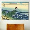 iCanvas 'Kajikazawa in Kai Province' by Katsushika Hokusai Painting Print on Canvas