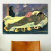 iCanvas 'Girl in Bed' Art by Paul Gauguin Painting Print on Canvas