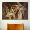 iCanvas 'Angels Playing Violin' by William-Adolphe Bouguereau Painting Print on Canvas