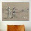 iCanvas 'Fishing in the Pond 1878' by Winslow Homer Painting Print on Canvas