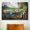 iCanvas 'Fishing (La Peche)' by Edouard Manet Painting Print on Canvas