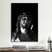iCanvas Jesus Christ Sculpture Photographic Print on Canvas