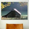 iCanvas '#54 P Cades Cove Barn' by J.D. McFarlan Photographic Print on Canvas