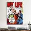 iCanvas My Husband was a Gambler (My Life Comic Book) Vintage Advertisement on Canvas