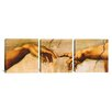 iCanvas Michelangelo The Creation of Adam Di Lodovico Buonarroti Simoni 3 Piece on Wrapped Canvas Set