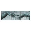 iCanvas Di Lodovico Buonarroti Simoni The Creation of Adam IV by Michelangelo 3 Piece Painting Print on Wrapped Canvas Set