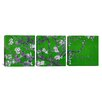 iCanvas Photography Almond Blossom by Vincent van Gogh 3 Piece Painting Print on Wrapped Canvas Set in Green