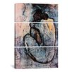 iCanvas Picasso Nude Pablo 3 Piece on Wrapped Canvas Set in Blue