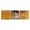 iCanvas Gustav Klimt Portrait of Adele Bloch-Bauer I 3 Piece on Wrapped Canvas Set