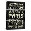 iCanvas Erin Clark Paris 3 Piece on Wrapped Canvas Set