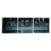 iCanvas Leonardo da Vinci The Last Supper III 3 Piece on Wrapped Canvas Set