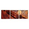 iCanvas Edvard Munch The Scream 3 Piece on Wrapped Canvas Set