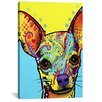 iCanvas 'Chihuahua l' by Dean Russo Graphic Art on Wrapped Canvas