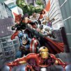 iCanvas Avengers & The Vision Attack Poster by Marvel Comics Graphic Art on Canvas