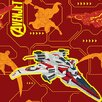iCanvas Avenjet by Marvel Comics Graphic Art on Canvas