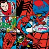 iCanvas Spider-Man Collage Poster by Marvel Comics Graphic Art on Canvas