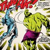 iCanvas Hulk: Stay Back! Comic Book by Marvel Comics Graphic Art on Canvas