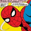 iCanvas Spider-Man: That Was A Shot I Heard! Comic Book by Marvel Comics Graphic Art on Canvas