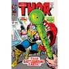 iCanvas Marvel Comics The Mighty Thor, Issue #144 Cover Vintage Advertisement on Canvas