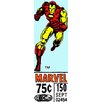 iCanvas Iron Man Price Tag Panoramic by Marvel Comics Graphic Art on Canvas