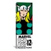 iCanvas Marvel Comic Book Thor B Price Tag Panoramic by Marvel Comics Graphic Art on Canvas