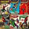 iCanvas Marvel Comics Comics (Retro) - Book Spider-Man Comics Covers #3 Vintage Advertisement on Canvas