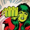 iCanvas Marvel Comics She-Hulk: Shut Up! Comic Book Graphic Art on Canvas