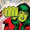iCanvas Marvel Comics She-Hulk: Shut Up! Comic Book Poster Graphic Art on Canvas
