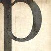 iCanvas Bleached Linen Textual Art on Canvas