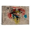 iCanvas Marvel Comic Book: Thor Graffiti by Marvel Comics Graphic Art on Canvas