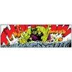iCanvas Hulk Art Panel B by Marvel Comics Graphic Art on Canvas