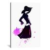 iCanvas Shadow Girl by Rongrong DeVoe Painting Print on Gallery Wrapped Canvas