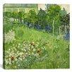 """iCanvas """"Daubigny's Garden"""" Canvas Wall Art by Vincent van Gogh"""