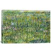 "iCanvas ""Patch of Grass"" by Vincent Van Gogh Painting Print on Canvas"