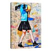 iCanvas I'll Be The Kid With The Big Plans Canvas Print by Annie Terrazzo