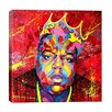 iCanvas BIGGIE Ready To Die HD Canvas Print by Noe Two