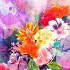 iCanvas Summer Blossoms By DarkLord Painting Print on Canvas