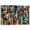 iCanvas Busy City by Heather Offord Graphic Art on Canvas