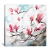 iCanvas 'Magnolia Spring' by CanotStop Painting Print on Canvas
