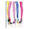 iCanvas Legs And Heels by Rongrong DeVoe Painting Print on Canvas