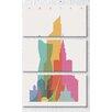 iCanvas 'Paris' by Yoni Alter 3 Piece Graphic Art on Canvas Set