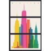 iCanvas 'New York City' by Yoni Alter 3 Piece Graphic Art on Canvas Set