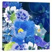 iCanvas 5by5collective 'Midnight Flowers #2' Painting Print on Wrapped Canvas