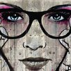 iCanvas Specs by Loui Jover Textual Art on Wrapped Canvas