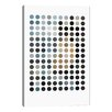 iCanvas Modern Earthy Dots Graphic Art on Wrapped Canvas