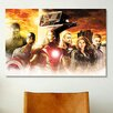 iCanvas The Avengers Together, Movie Poster by Marvel Comics Graphic Art on Canvas