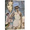 iCanvas 'Vintage Fashion #4' by Luz Graphics Graphic Art on Canvas
