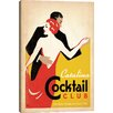 iCanvas 'Catalina Cocktail Club' by Anderson Design Group Vintage Advertisement on Canvas